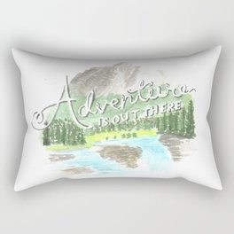 """""""Adventure is Out There!"""" - Up, Pixar Rectangular Pillow"""
