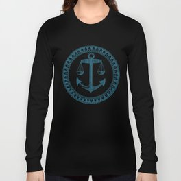 Anchor & Scales Long Sleeve T-shirt