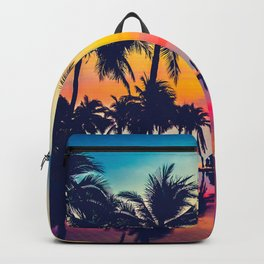 Miami sunset Backpack