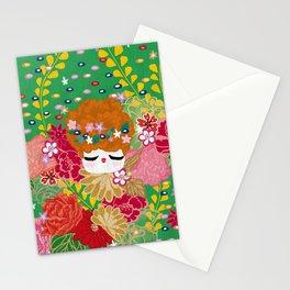 Kokeshina - Printemps / Spring Stationery Cards