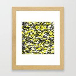 Whippet camouflage Framed Art Print