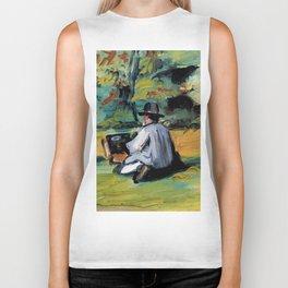 "Paul Cézanne ""A Painter at Work"" Biker Tank"