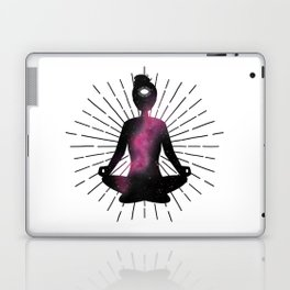 Open Your Third Eye To The Universe | Dark Stars Galaxy Laptop & iPad Skin