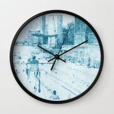 swimmingpool 1 Wall Clock