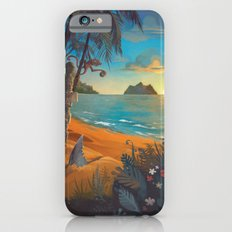 Retro Hawaii North Shore Travel Poster Slim Case iPhone 6s