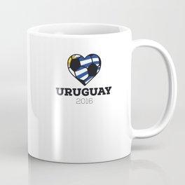 Uruguay Soccer Shirt 2016 Coffee Mug