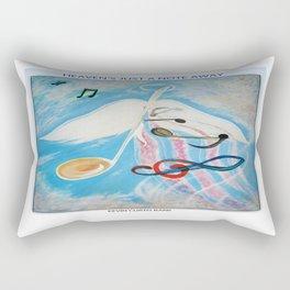 HEAVEN'S JUST A NOTE AWAY Rectangular Pillow