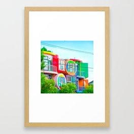 The Reversible Destiny Lofts MITAKA Framed Art Print