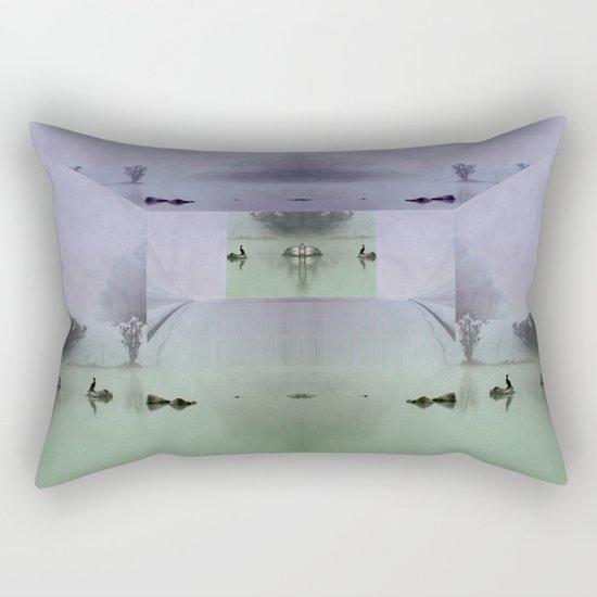 Overseers of the mist Rectangular Pillow