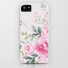 ROSES FLORAL BOUQUET iPhone Case
