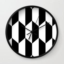 Hexa Checkers Wall Clock