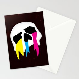 CMYK Death Stationery Cards