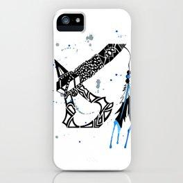 Watercolor Tomahawk iPhone Case