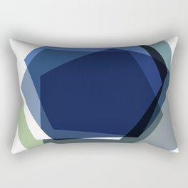 Serenity Hexagons Rectangular Pillow
