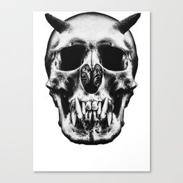 God is dead Canvas Print