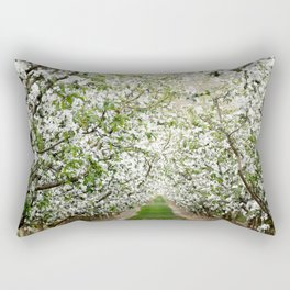 Orchard in Bloom Rectangular Pillow