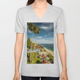 Sunny Summer Day 5533 Laguna Beach Unisex V-Neck