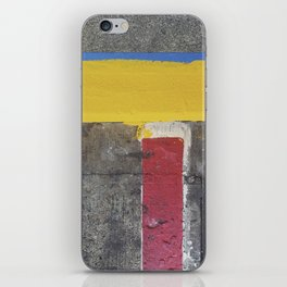 Red Yellow Blue iPhone Skin
