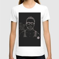ryan gosling T-shirts featuring Hey Girl, The Gosling by Dear Colleen