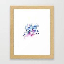 Underwater Dreams Framed Art Print