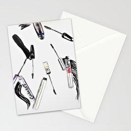 EyeLashes Mascara Stationery Cards
