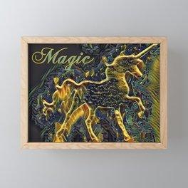 """ Unicorn Magic "" Framed Mini Art Print"