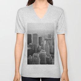 City Unisex V-Neck