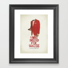 SUCCESS Framed Art Print