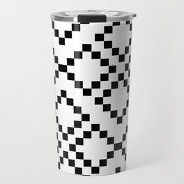 Monocrom pattern Travel Mug