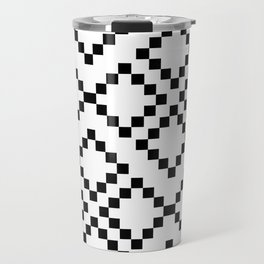 Monocrom pattern Travel Mug