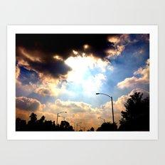 Sun Shine Art Print