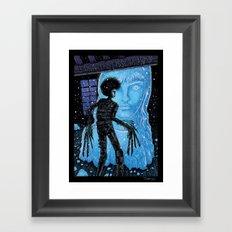 Edward Scissorhands Framed Art Print