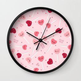 Valentine Sweetheart Wall Clock