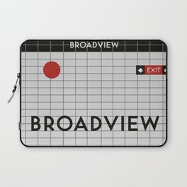 BROADVIEW | Subway Station Laptop Sleeve