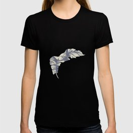 tropical gentle falling leaves T-shirt
