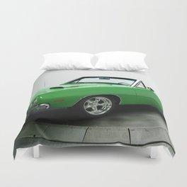 1969 Dodge Coronet Convertible Duvet Cover