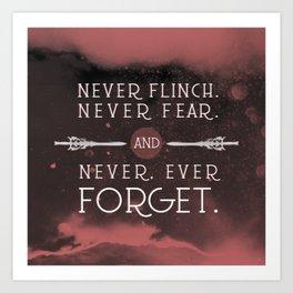Nevernight - Never Forget Art Print