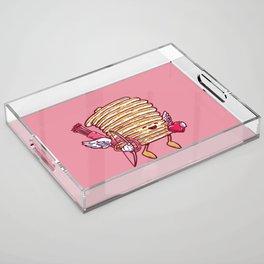 Cupid Cakes Acrylic Tray