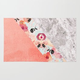 MIX IT BABY - CORAL MARBLE Rug