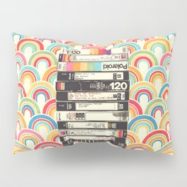 VHS & Rainbows Pillow Sham