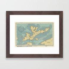 New Penzance Island Framed Art Print