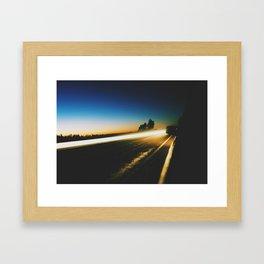 Low Light Framed Art Print