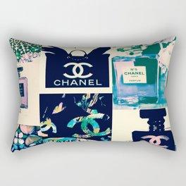 CC No.5 Fashion Collage Rectangular Pillow