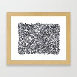 BOOM Ink5 Framed Art Print