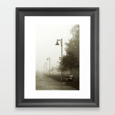Into the Mystic Framed Art Print