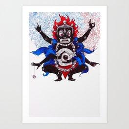 ASURA Art Print