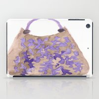 tote bag iPad Cases featuring Tote 1 by ©valourine
