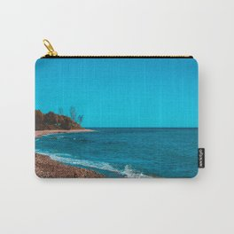 Vintage colored picture of bay at greece Carry-All Pouch