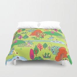 Bunny Land Duvet Cover