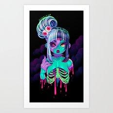 Nega Z-Cutie Art Print